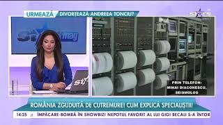 România zguduită de cutremure. Țara a fost lovită de două seisme