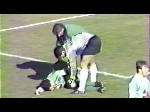 ASSE 1-3 Nantes - 28e journée de D1 1990-1991