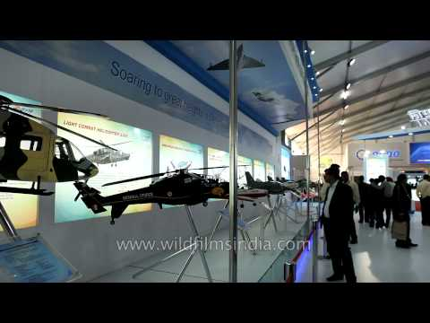 Aircraft Division Of Hindustan Aeronautics Limited (HAL) At Defexpo 2014