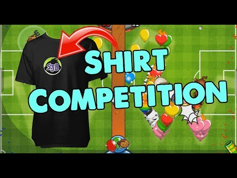 T Shirt Design Competition! Bloons TD Battles