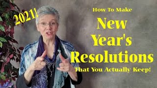 How To Make New Year's Resolutions That You Keep