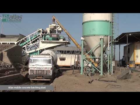Batching Plants | Portable Concrete Ready Mix Plant