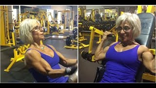 70-year-oldest female bodybuilder in the world|2017|2018|New.mp4