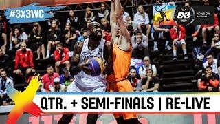 FIBA 3x3 World Cup 2018 - Quarter & Semi-Finals - Day 5 - Re-Live - Manila, Philippines