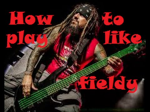 how to sound like fieldy from korn bass tutorial lesson youtube. Black Bedroom Furniture Sets. Home Design Ideas