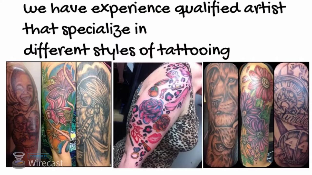 baltimore city tattoo shops - YouTube