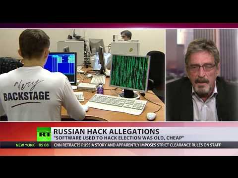 DNC service hacked by some random teenage, not Russia - John McAfee