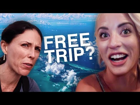 How We Got a Free Trip to PUERTO RICO!!!