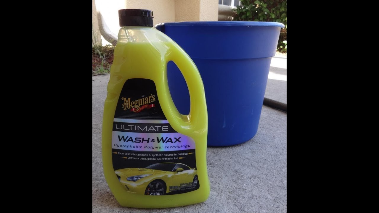 Meguiar s ultimate wash and wax test review before and after results on 2001 honda prelude youtube