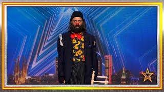 Cucko, el mimo es capaz de hacer reír hasta a Risto Mejide | Audiciones 1 | Got Talent España 2019