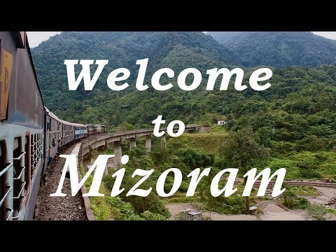 Assam (Haflong) to Mizoram by Train || Mizo Hospitality