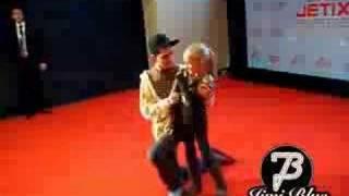 Jimi Blue - Jetix Red Carpet / Sister