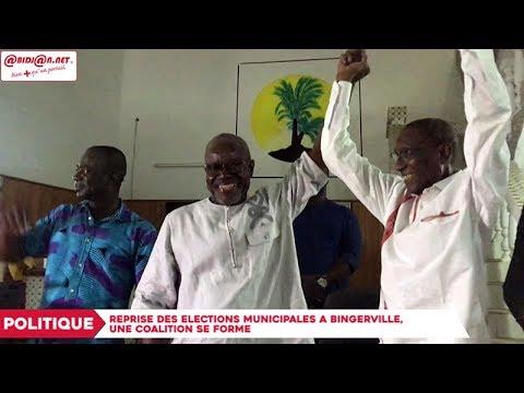 Reprise des élections municipales à Bingerville, une coalition se forme