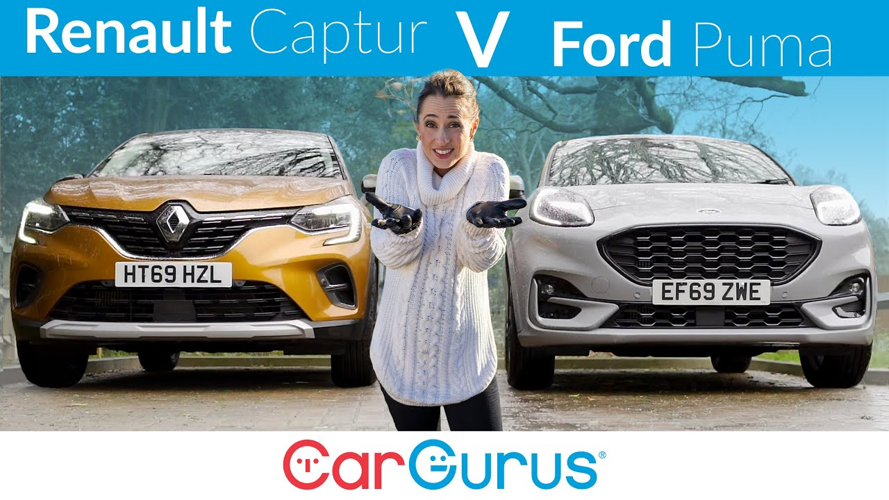 2020 Renault Captur Vs Ford Puma Why These Two Small Suvs Are