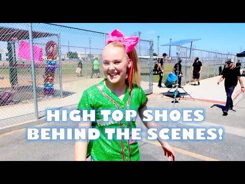 HIGH TOP SHOES BEHIND THE SCENES DAY 1!!! DAY 66