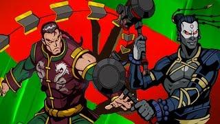 НЕ ПОБЕДИМАЯ ТЕНЬ  мультик игра Shadow Fight 2 Бой с тенью #56 МАСТЕР ГУРУ Пандемия Морок Хлыст #КИД