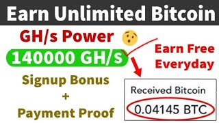 New bitcoin cloud mining site 2020.unlimited bitcoin earning and mining site 2020.no investment oibd
