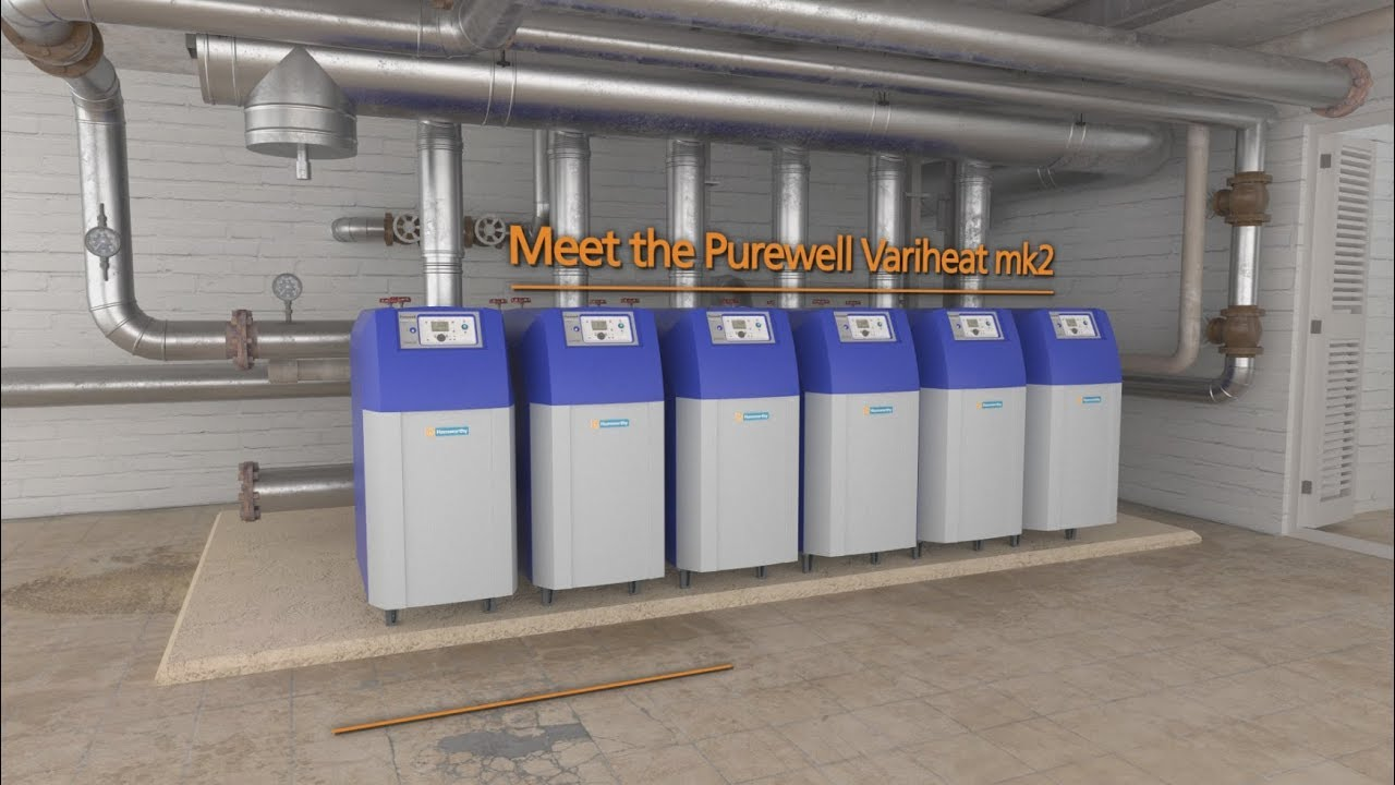 Purewell Variheat mk2 condensing cast iron boiler