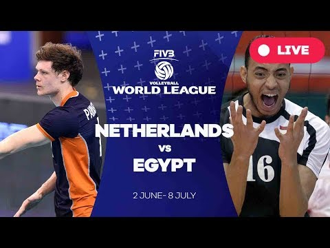 Netherlands v Egypt - Group 2: 2017 FIVB Volleyball World League