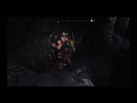 God of War we find our first treasure, Kratos , Atreus and Mimir speak to the world Serpent !