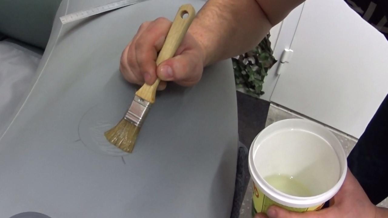 Сделать клей для пвх своими руками