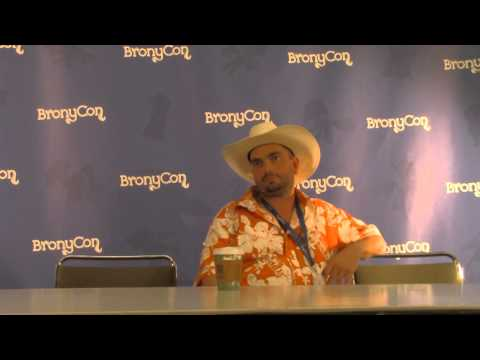 Bronycon 2014:Peter New press conference
