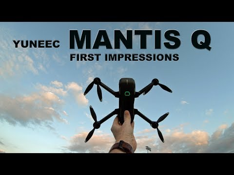 Yuneec Mantis Q Drone - Is It Any Good?  My First Impressions