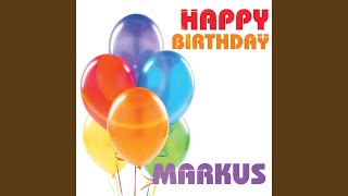 Happy Birthday Markus
