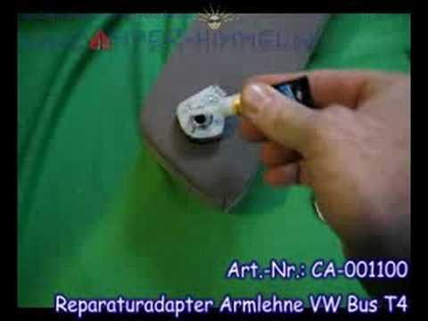 T4 Armlehnenreparaturadapter Ca 001100 Youtube