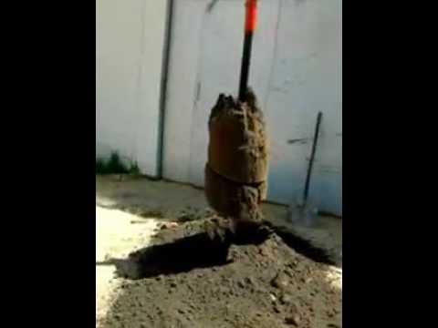 Tylko na zewnątrz Wiertnica Otwornica koparka wiertło otwory w ziemi.mp4 - YouTube XA64