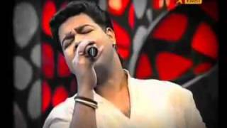 Santhosh eliminated airtel super singer 3