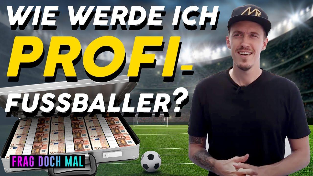 Was verdient ein Profifussballer? - mit MAX KRUSE | FRAG DOCH MAL