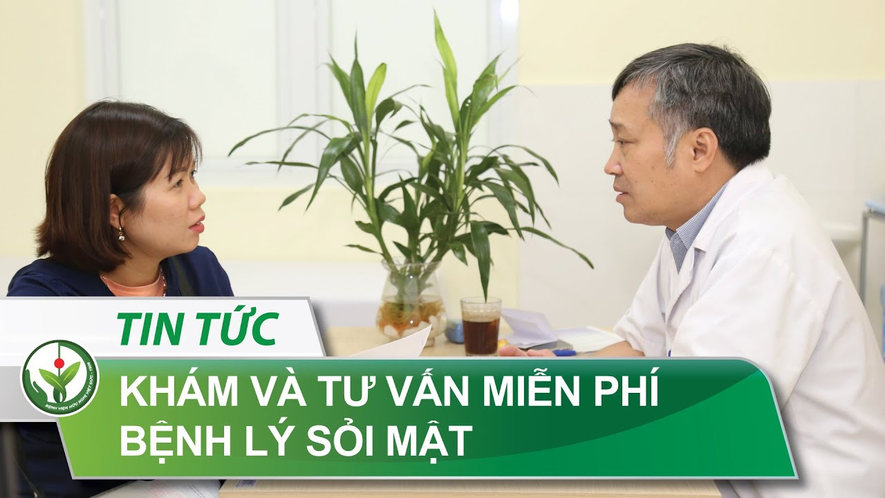 Khám an sinh gan mật - Bệnh viện Hữu nghị Việt Đức