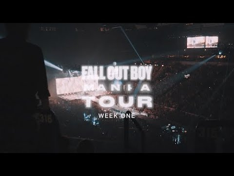 Fall Out Boy - M A  N   I    A Tour (Week 1)