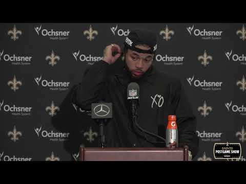 Marshon Lattimore Postgame Interview After 2 INTs Against Philly | New Orleans Saints