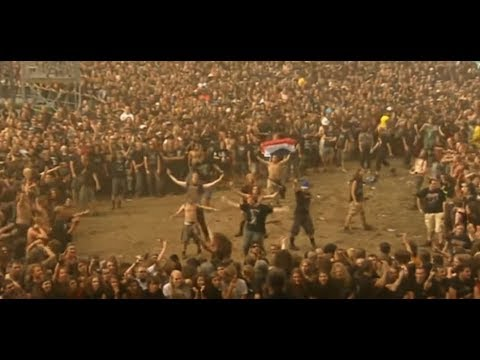 "Most ""BRUTAL"" Wall of Death at a Metal Festival Ever!!"
