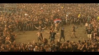 Most BRUTAL wall of death at a metal festival ever!! [Full HD 1080p!]
