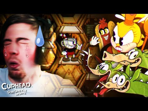80 MINUTES FOR 1 BOSS..  CupHead Part 4   Beanboozled Challenge