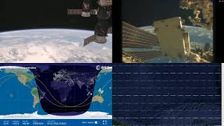 Australian Coastlines - NASA/ESA ISS LIVE Space Station With Map - 210 - 2018-10-15