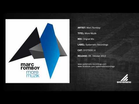 Marc Romboy - More Muzik (Original Mix)