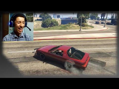GTA 5 Online | التسطية والموت الضحك مع صديقي النووب هههه