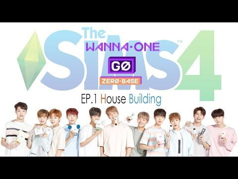 Wanna one go zero base Thesims 4 House building ep.1