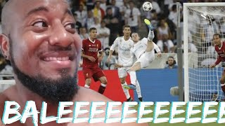 Gareth Bale Bicycle Kick Champions League Final vs Liverpool Reaction
