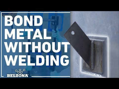 How to Bond Metal Brackets to a Metal Tank Without Welding