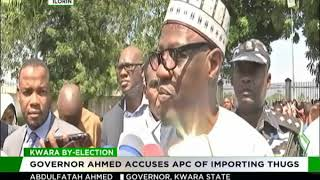 Kwara by-election: Governor AbdulFatah accuses APC of importing thugs