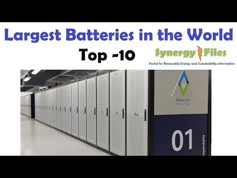 Largest Batteries in the World  Top 10