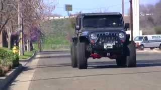 Jeep Death Wobble Experiment - Extreme Shaking! - Rare Parts Inc