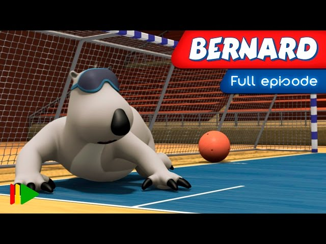 Bernard Bear - 128 - Goalball