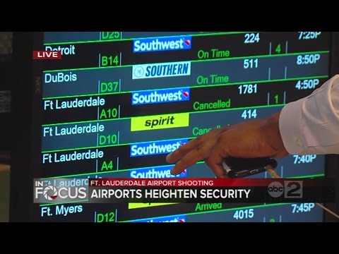BWI suspends service to Fort Lauderdale after deadly shooting