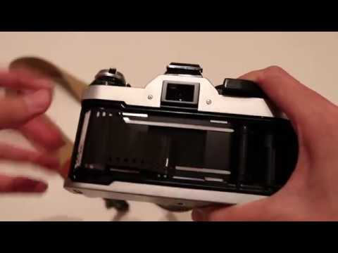 How To Load Film Onto The Canon AE 1 Program (works On AE-1 As Well)